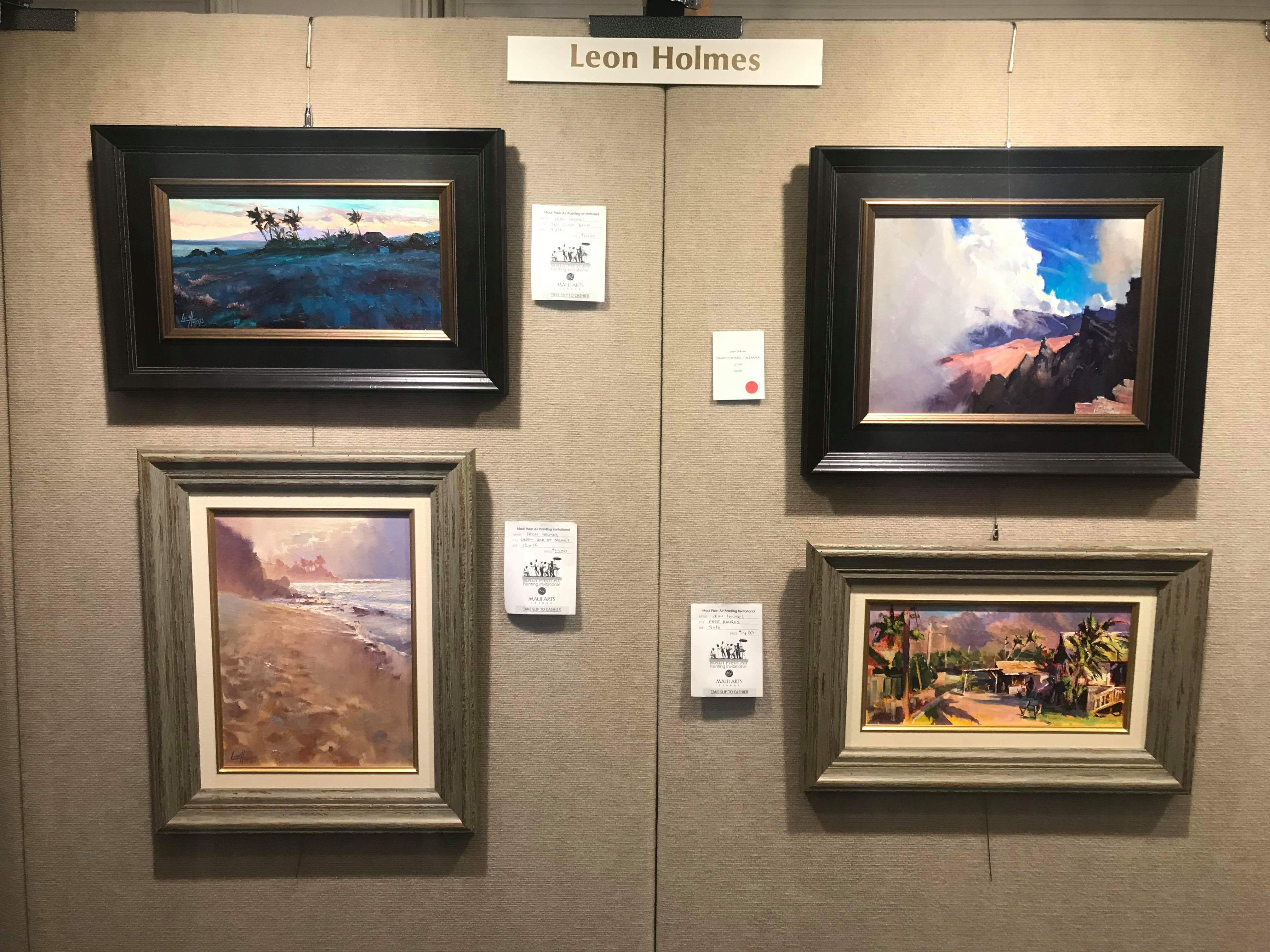 Four best paintings for Gala - Leon Holmes